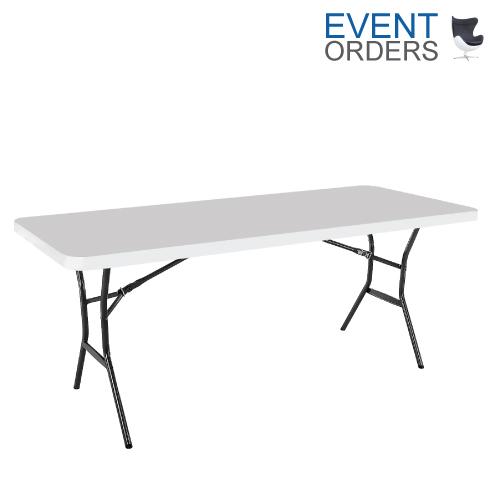 Trestle Table White 6ft 1830mm Long