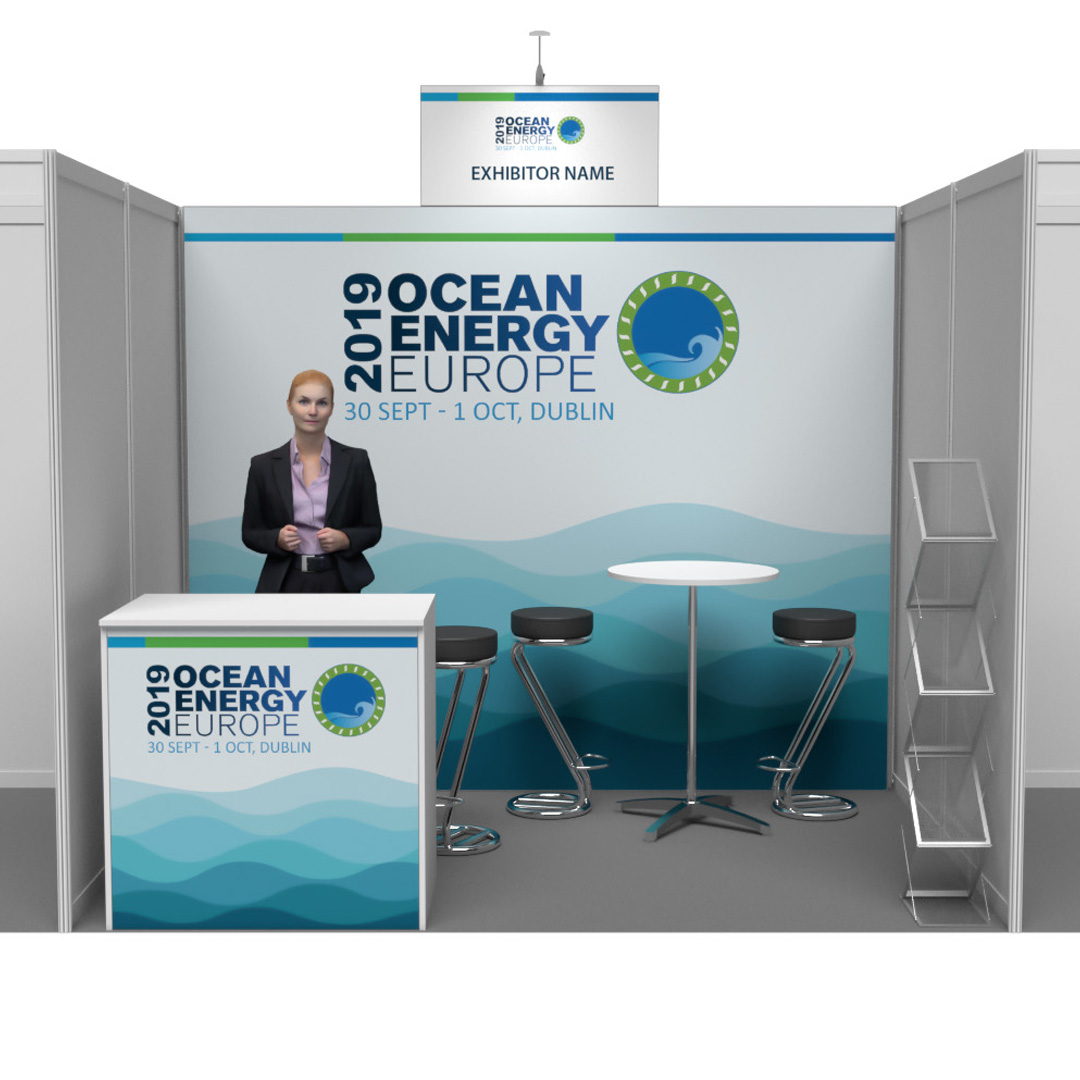Ocean Energy Conference 2019 - PACKAGE 1 - 3m x 2m - back wall only - Event  Orders